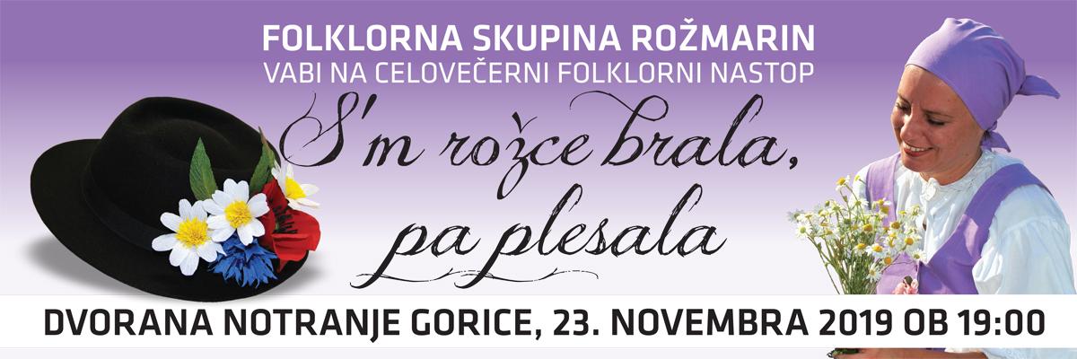 FS Rozmarin -Sm rožce brala, pa plesala-banner.cdr